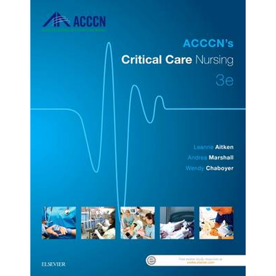 Paramedic Shop Elsevier Textbooks ACCCN's Critical Care Nursing, 3rd Edition