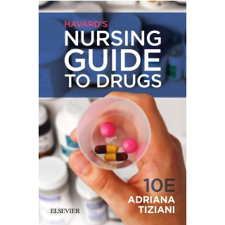 Paramedic Shop Elsevier Textbooks Havard's Nursing Guide to Drugs, 10th Edition