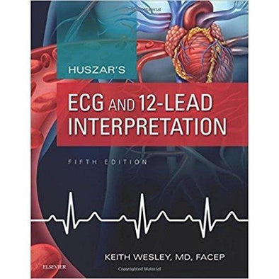 Paramedic Shop Elsevier Textbooks Huszar's ECG and 12-Lead Interpretation 5e