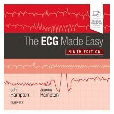 The ECG Made Easy 9e Hampton