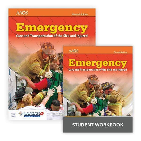 Paramedic Shop PSG Learning Textbooks Book, Advantage & Student Workbook Emergency Care and Transportation of the Sick and Injured; 11th Ed