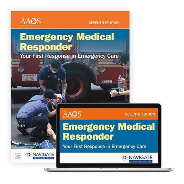 Paramedic Shop PSG Learning Textbooks Book & Advantage Emergency Medical Responder: Your First Response in Emergency Care - 7th Edition