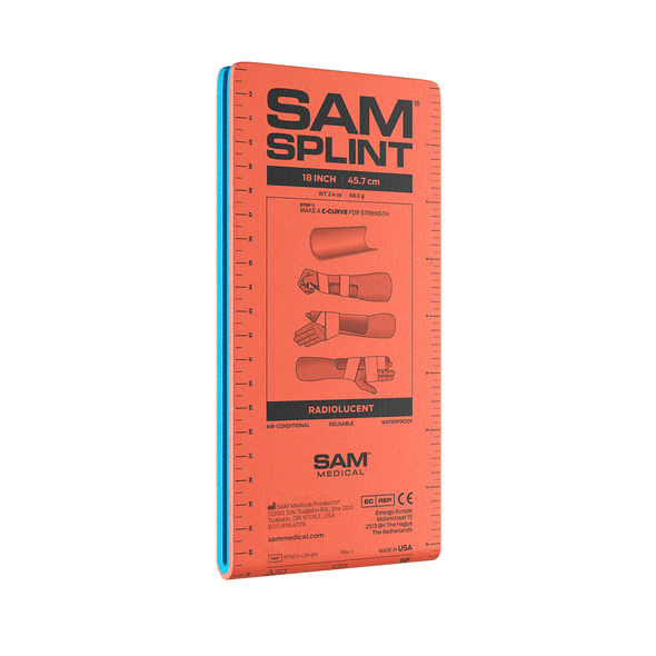 SAM Splint 18 Orange Blue