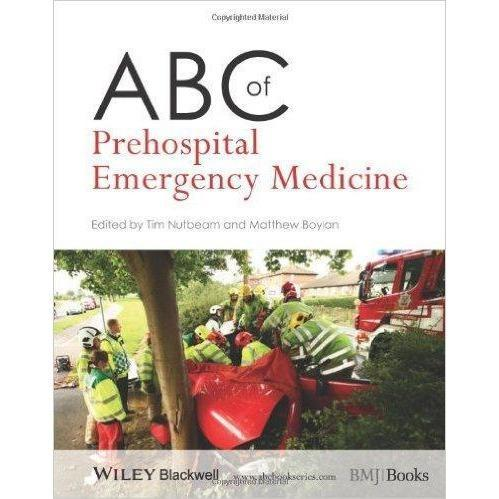Paramedic Shop John Wiley & Sons Textbooks ABC of Prehospital Emergency Medicine