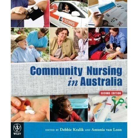 Paramedic Shop John Wiley & Sons Textbooks Community Nursing in Australia 2nd Ed