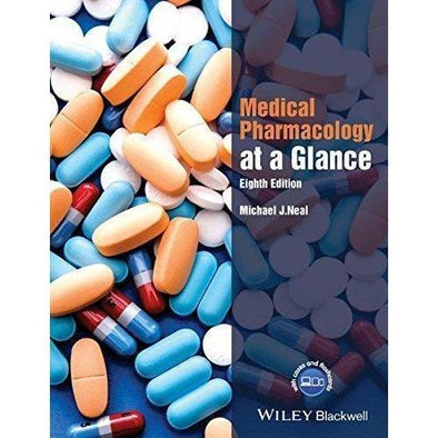Paramedic Shop John Wiley & Sons Textbooks Medical Pharmacology at a Glance, 8th Edition