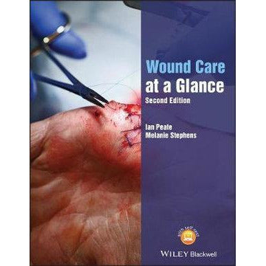 Paramedic Shop John Wiley & Sons Textbooks Wound Care at a Glance