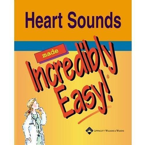 Paramedic Shop Lippincott Wilkins Textbooks Heart Sounds Made Incredibly Easy!