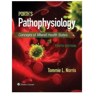 Paramedic Shop Lippincott Wilkins Textbooks Porth's Pathophysiology: Concepts of Altered Health States