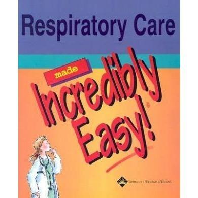 Paramedic Shop Lippincott Wilkins Textbooks Respiratory Care Made Incredibly Easy!