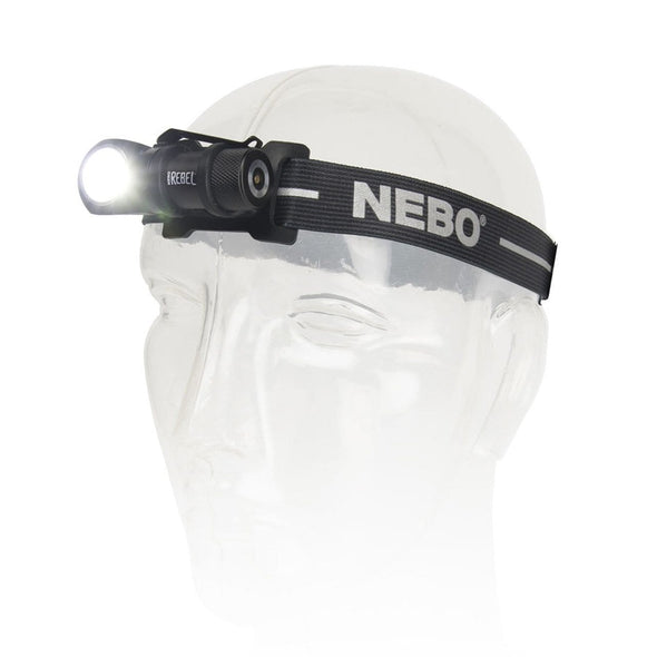 Paramedic Shop Sheldon & Hammond Torch NEBO Rebel - Rechargeable Task Light / Head Lamp