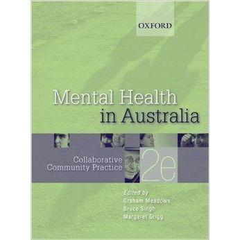 Paramedic Shop Oxford University Press Textbooks Mental Health In Australia Collaborative Community Practice - 2e