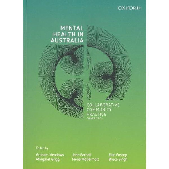 Paramedic Shop Oxford University Press Textbooks Mental Health in Australia, Collaborative Community Practice 3e