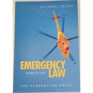 Paramedic Shop Paramedic Shop Textbooks Emergency Law 3e - Eburn