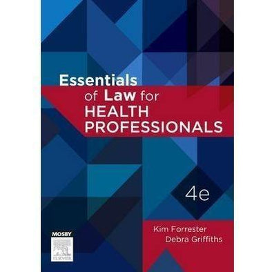 Paramedic Shop Paramedic Shop Textbooks Essentials of Law for Health Professions - Forrester