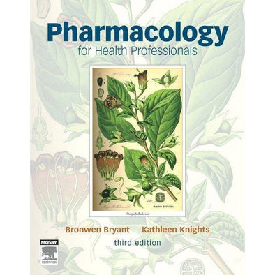 Paramedic Shop Paramedic Shop Textbooks Pharmacology for Health Professionals: 3e