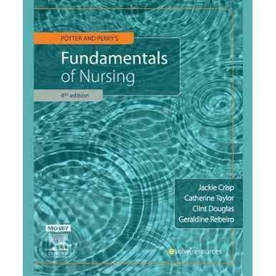 Potter & Perry's Fundamentals of Nursing - Australian Version 4th Edition