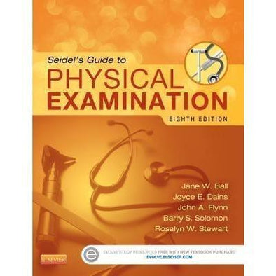 Paramedic Shop Paramedic Shop Textbooks Seidel's Guide to Physical Examination 8e