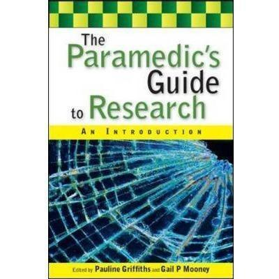 Paramedic Shop Paramedic Shop Textbooks The Paramedics Guide to Research