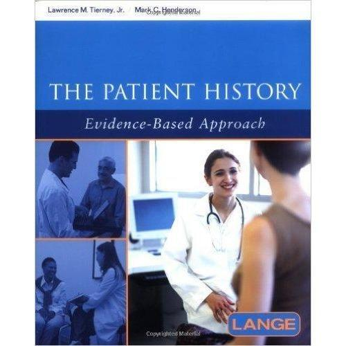 Paramedic Shop Paramedic Shop Textbooks The Patient History: An Evidence Based Approach