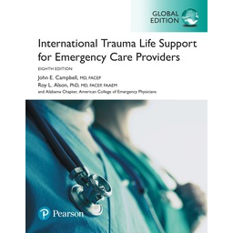 Paramedic Shop Pearson Education Textbooks International Trauma Life Support for Emergency Care Providers, Global Edition