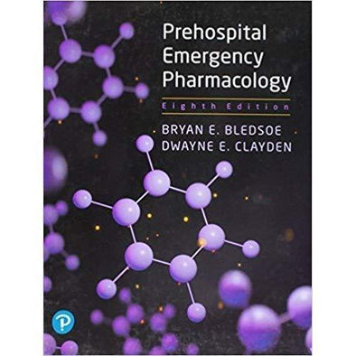 Paramedic Shop Pearson Education Textbooks Prehospital Emergency Pharmacology 8th Edition