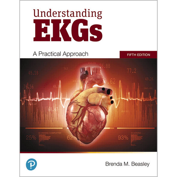 Paramedic Shop Pearson Education Textbooks Understanding EKGs: A Practical Approach, 5th Edition