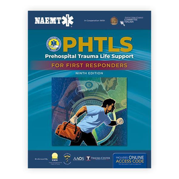 Paramedic Shop PSG Learning Textbooks PHTLS Trauma First Response: 2nd Edition - NAEMT