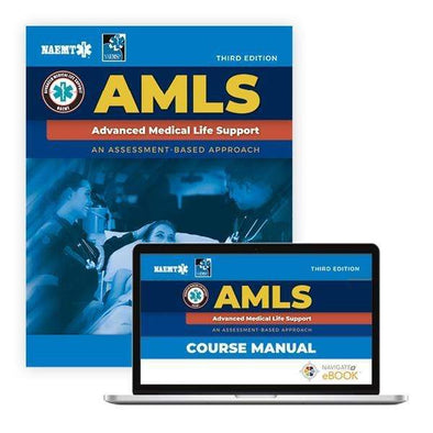 Paramedic Shop PSG Learning Textbooks Advanced Medical Life Support (AMLS): 3rd Edition - NAEMT