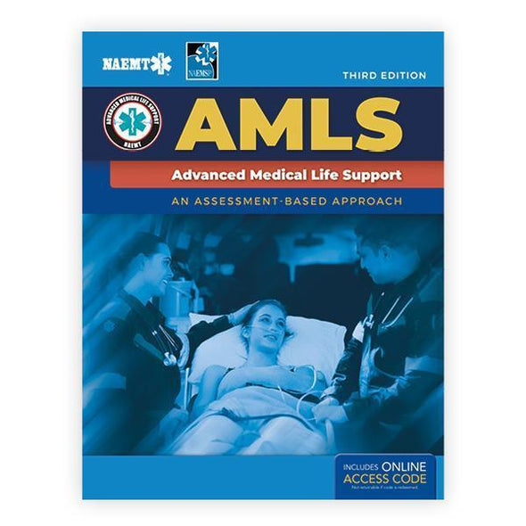 Paramedic Shop PSG Learning Textbooks eBook Text & eCourse Manual Advanced Medical Life Support (AMLS): 3rd Edition - NAEMT