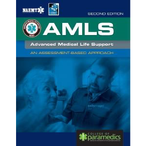 Paramedic Shop PSG Learning Textbooks Advanced Medical Life Support (AMLS) - UK EDITION: 2nd Edition - NAEMT/UK College of Paramedics