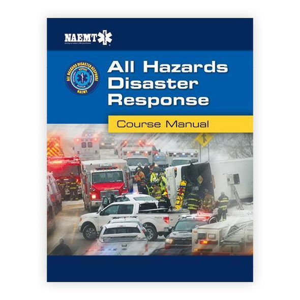 Paramedic Shop PSG Learning Textbooks AHDR: All Hazards Disaster Response - NAEMT