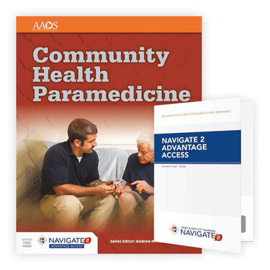 Paramedic Shop PSG Learning Textbooks Community Health Paramedicine: 1st Edition (Advantage Access)