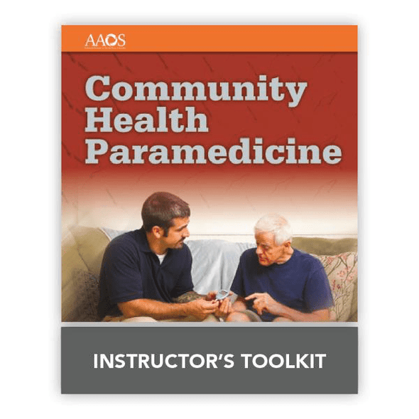 Paramedic Shop PSG Learning Textbooks Community Health Paramedicine: 1st Edition - Online Instructor TooKit
