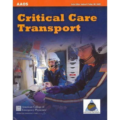 Paramedic Shop PSG Learning Textbooks Critical Care Transport