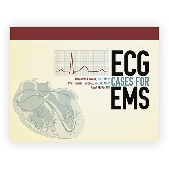 Paramedic Shop PSG Learning Textbooks ECG Cases for EMS - 1st Edition