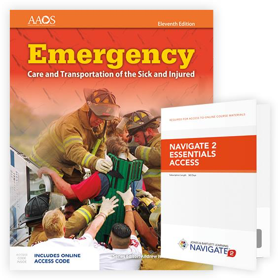 Paramedic Shop PSG Learning Textbooks Emergency Care and Transportation of the Sick and Injured; 11th Ed