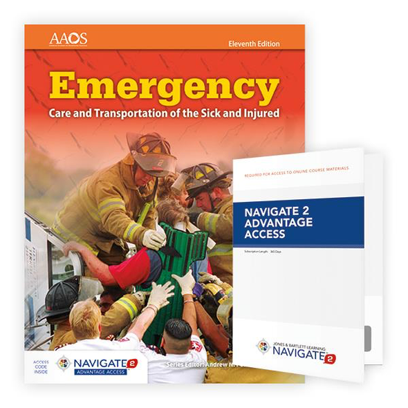 Paramedic Shop PSG Learning Textbooks Advantage Emergency Care and Transportation of the Sick and Injured; 11th Ed