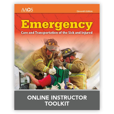 Paramedic Shop PSG Learning Instructor Tool Kit Emergency Care and Transportation of the Sick and Injured - Online Instructor Toolkit: 11th Ed