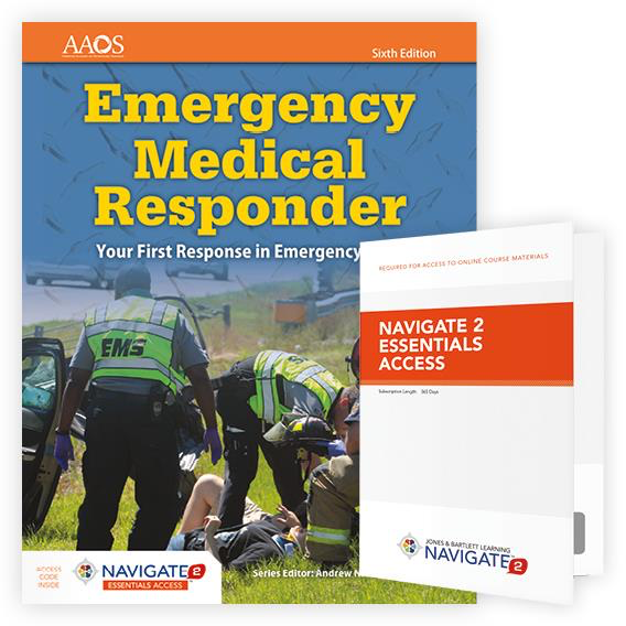 Paramedic Shop PSG Learning Textbooks Emergency Medical Responder: Your First Response in Emergency Care