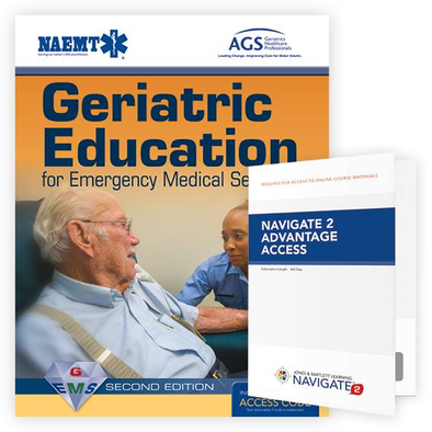 Paramedic Shop PSG Learning Textbooks Geriatric Education for Emergency Medical Services (GEMS): 2nd Edition - NAEMT