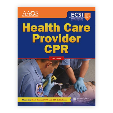 Paramedic Shop PSG Learning Textbooks Health Care Provider CPR - 5th Edition