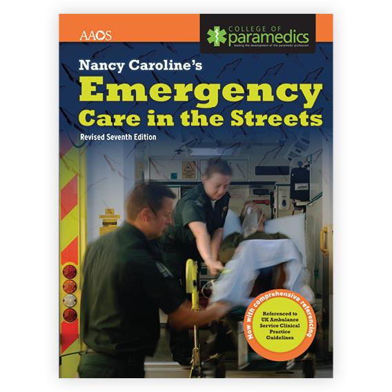 Paramedic Shop PSG Learning Textbooks Nancy Caroline's Emergency Care in the Streets, United Kingdom Edition: Revised 7th Edition