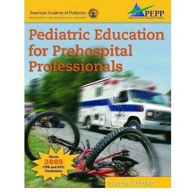 Paramedic Shop PSG Learning Textbooks Pediatric Education for Prehospital Professionals (PEPP) :2nd Edition - NAEMT/AAP