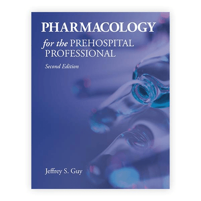 Paramedic Shop PSG Learning Textbooks Pharmacology for the Prehospital Professional 2nd Edition
