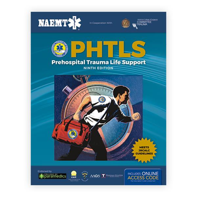 Paramedic Shop PSG Learning Textbooks PHTLS 9e United Kingdom - Print PHTLS Textbook with Digital Access to Course Manual eBook