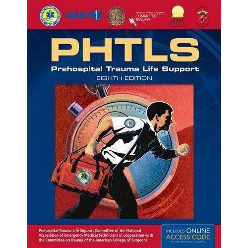 Paramedic Shop PSG Learning Textbooks PHTLS Prehospital Trauma Life Support: 8th Edition - NAEMT