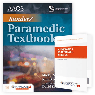Paramedic Shop PSG Learning Textbooks Sanders' Paramedic Textbook - 5th Edition