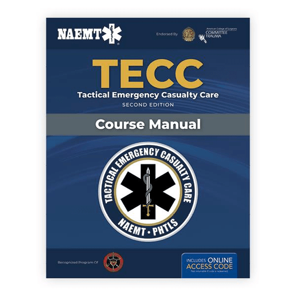 Paramedic Shop PSG Learning Textbooks TECC: Tactical Emergency Casualty Care - 2nd Edition - NAEMT