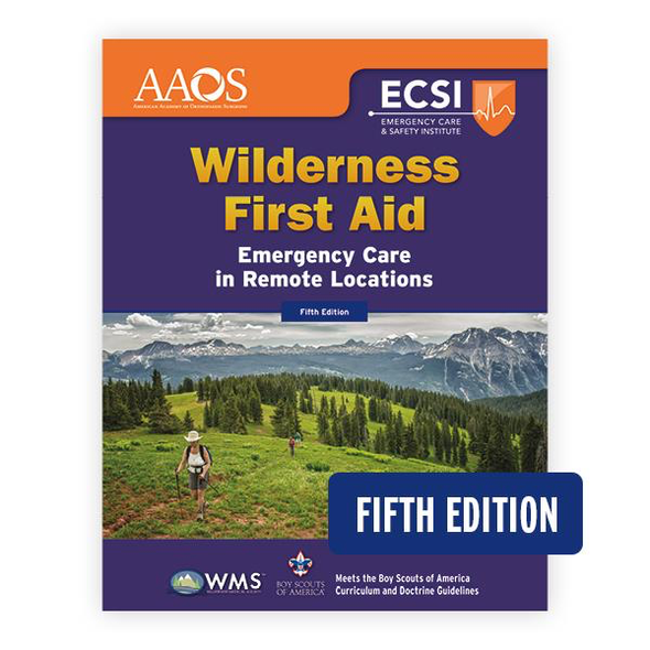 Paramedic Shop PSG Learning Textbooks Wilderness First Aid: Emergency Care in Remote Locations - 5th Edition